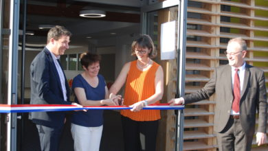 Photo de Inauguration du restaurant scolaire de Laillé