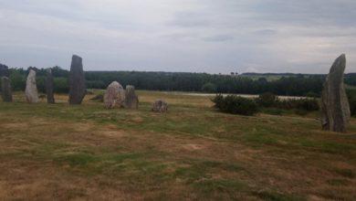 Photo de Inauguration de la maison des mégalithes et landes et du site de Saint-Just
