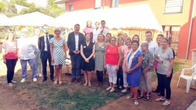 Photo de 10 ans de l'EHPAD les Rondines