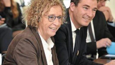 Photo de Ouest-France : Visite de Muriel Pénicaud, Ministre du travail