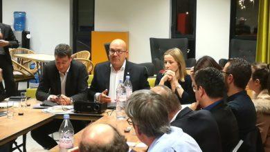 Photo de Visite de Bruno Bonnell, député du Rhône