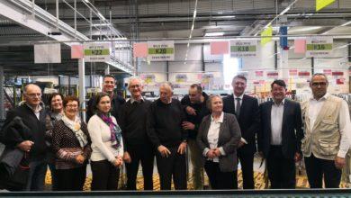Photo de Visite de la Plate-forme Industrielle Courrier – Rennes Armorique