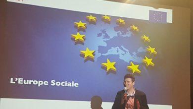 Photo de Conférence-débat sur l'Europe Sociale
