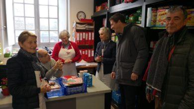 Photo de Visite des locaux de la Croix-Rouge de Redon