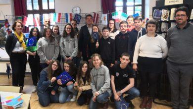 Photo de Les Infos de Redon : Visite au collège Le Cleu Saint Joseph