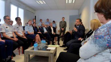 Photo de Ouest-France : visite de l'Unité d'accueil médico-judiciaire pédiatrique de Saint-Malo