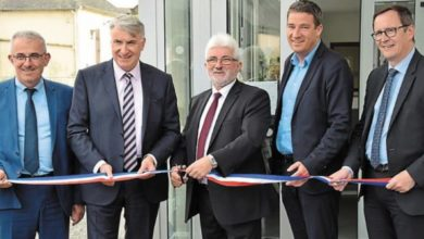 Photo de Ouest-France : Inauguration de l'extension de la mairie de Pipriac