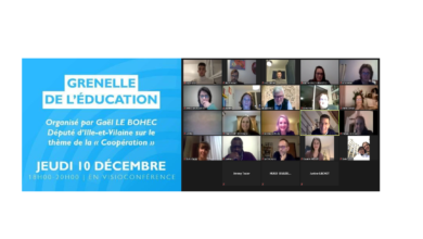 Photo de Grenelle local de l'éducation – 10 décembre 2020