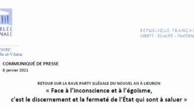 Photo de Communique de presse : RETOUR SUR LA RAVE PARTY ILLÉGALE DU NOUVEL AN À LIEURON