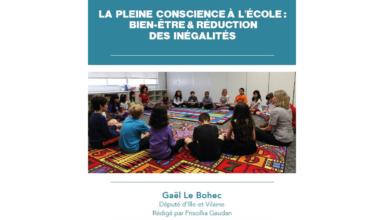 Photo de LA PLEINE CONSCIENCE À L'ÉCOLE : BIEN-ÊTRE & RÉDUCTION DES INÉGALITÉS