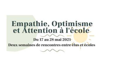 Photo de Communiqué de presse : Lancement des semaines de l'empathie, de l'optimisme  et de l'attention à l'école